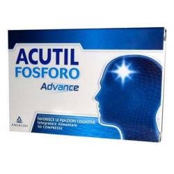 Acutil Fosforo Advance integratore per la memoria 50 compresse