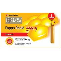 Arkofarm Pappa Reale Pack 1000mg 20 Fiale
