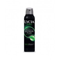 Lycia Spray Gas Antiodorante Men Extreme Fresh 150 Ml