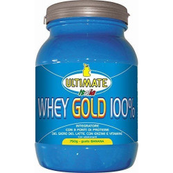 Ultimate Whey Gold 100% Banana 750 Grammi