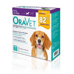Oravet Chewing Gum Dog Medium 7 Pezzi