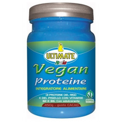 Ultimate Vegan Proteine Gusto Cacao 450 Gr
