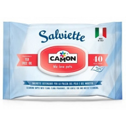 Camon Salviette Tea Tree Oil 40 Pezzi