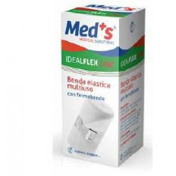 Benda Elastica Meds Ideal Cotone/Nylon 12x450 Cm