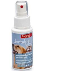 Dentalpet Spray Collutorio Per Cani E Gatti 50ml