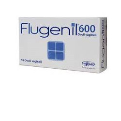 Flugenil 600 10 Ovuli Vaginali