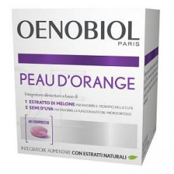 Oenobiol Peau D'orange Integratore 40 Compresse