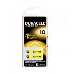 Duracell Easy Tab 10 Colore Giallo Batterie