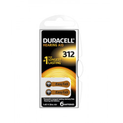 Duracell Easy Tab 312 Colore Marrone