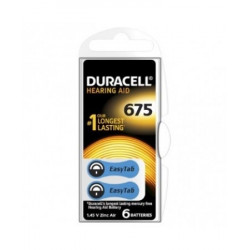 Duracell Hearing Aid Easy Tab 675 Colore Blu