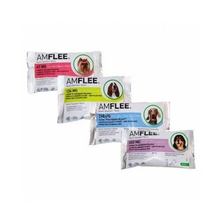 Amflee 134mg Spot On 3 Pipette Per Cani 10-20kg