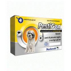 Norbrook Pestigon* Spoton Cani 4 Pipette 67mg