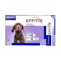 Effitix Spot On Cani Medi 134mg/1200mg 4 Pipette