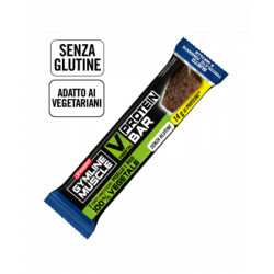 Gymline Muscle Vegetal Protein Bar Cioccolato Fondente E Mirtillo 60g