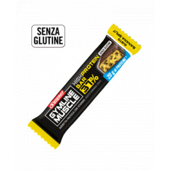 Gymline Muscle High Protein Barretta Banana 54gr