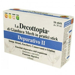 Decottopia Depurativo Ii 16 Stick X 30ml