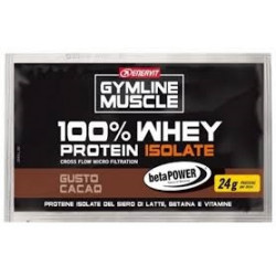 Gymline Muscle 100% Whey Protein + Betaina Cacao Bustina 24g