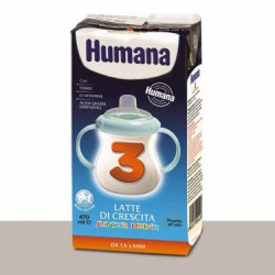 Humana 3 Junior Drink Latte Liquido 470 Ml