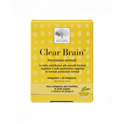 New Nordic Clear Brain 60 Compresse