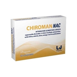 Chiroman Nac 20 Cps + 20 Cpr. 6 Pezzi