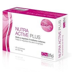 6 Pezzi Nutra Active Plus 40 Compresse integratore pelli mature