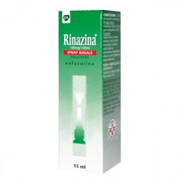 Rinazina*spray Nasale 15ml 0,1% 4 Pezzi