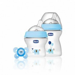Chicco Set Natural Feeling Azzurro 0+