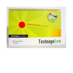 Testoage Low 30 Compresse 850mg 6 Pezzi