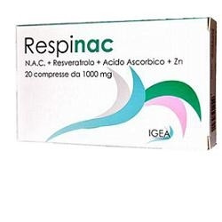 Respinac 2 Blister 10 Compresse 1000 Mg 6 Pezzi