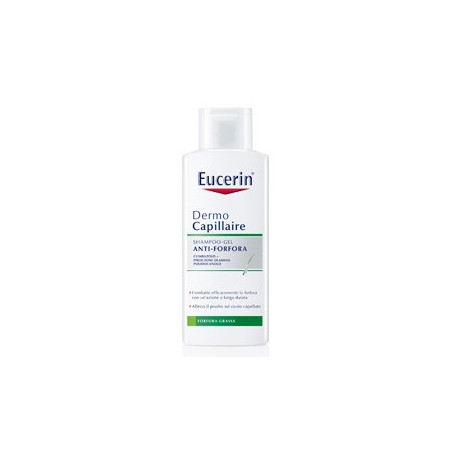 Eucerin Shampoo Gel Antiforfora Grassa 200 Ml
