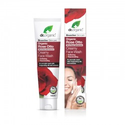 Dr. Organic Rosa Face Wash 150ml