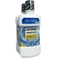 Listerine Advance White Collutorio 2x500ml