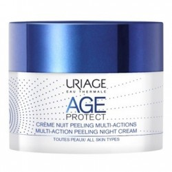 Uriage Age Protect Crema Notte Peeling 50ml