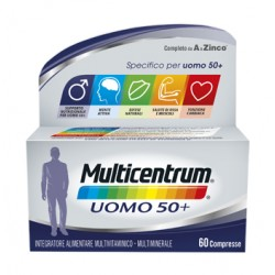 Multicentrum uomo 50+ integratore di vitamine 60 compresse