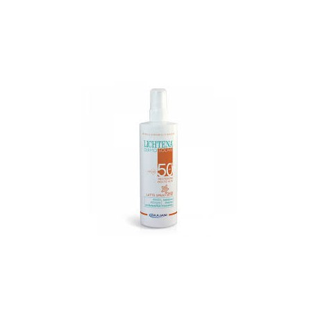 Lichtena dermosolari latte spray Bambini spf 50 200ml
