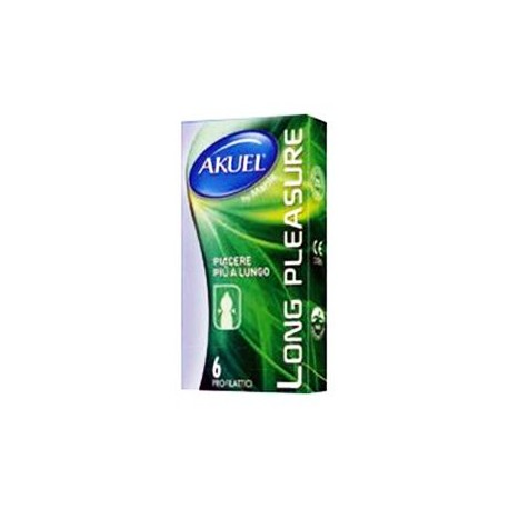 Akuel Long Pleasure 6 Preservativi
