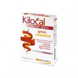 Kilocal Medical Slim Grassi Carboidrati 30 Compresse