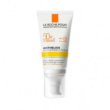Anthelios anti imperfections spf50+ crema gel protezione solare 50 ml
