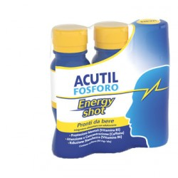Acutil fosforo energy shot integratore per la memoria 3 x 60 ml