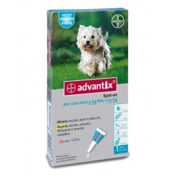 Advantix spot on 1 pipetta 1 ml cani da 4 a 10 kg
