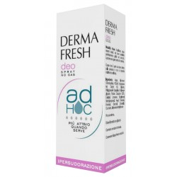 Dermafresh ad hoc ipersudorazione deodorante spray no gas 100 ml