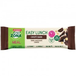 Enerzona easy lunch crispy dark pasto sostitutivo 58 g