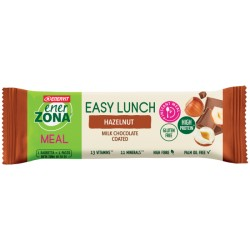 Enerzona easy lunch hazelnut barretta pasto sostitutivo 58 g