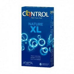 Control Xl new nature profiliattici in lattice 6 pezzi