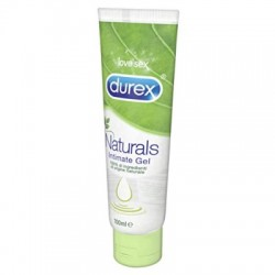 Durex natural gel lubrificante con ingredienti naturali 100 ml