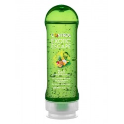 Control gel exotic escape massaggio idratante 2 in 1 200 ml