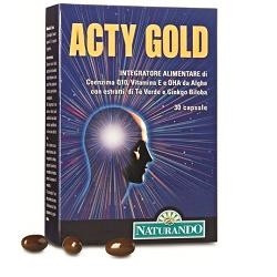 Acty Gold 30 Capsule