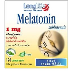 Longlife Melatonin 1mg 120 Compresse