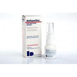 Naftazolina* Spray Nasale 10ml0,2%