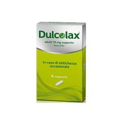 Dulcolax*adulti 6 Supposte 10mg